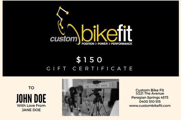 The Easy Xmas Gift – A Custom Bike Fit Gift Voucher